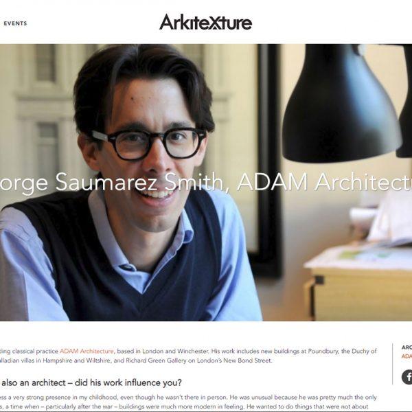 Arkitexture.com interviews George Saumarez Smith