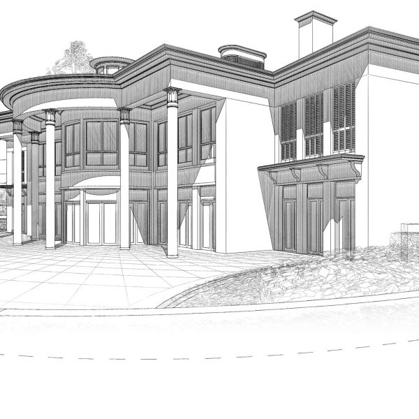 Planning permission at appeal for sustainable classical house in Oxfordshire