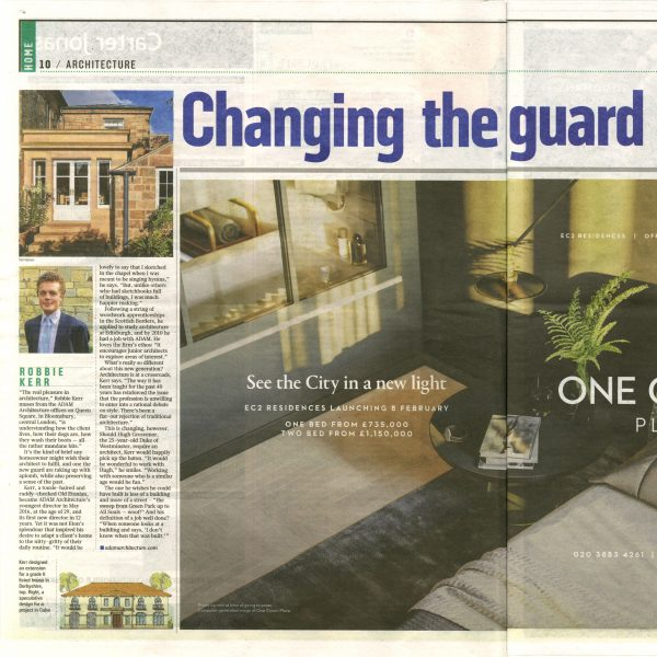 Changing the Guard – The Sunday Times