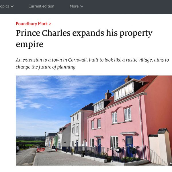 Prince Charles expands his property empire – The Economist