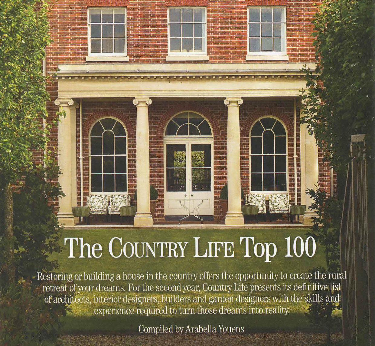 The Country Life Top 100 - Country Life - ADAM Architecture