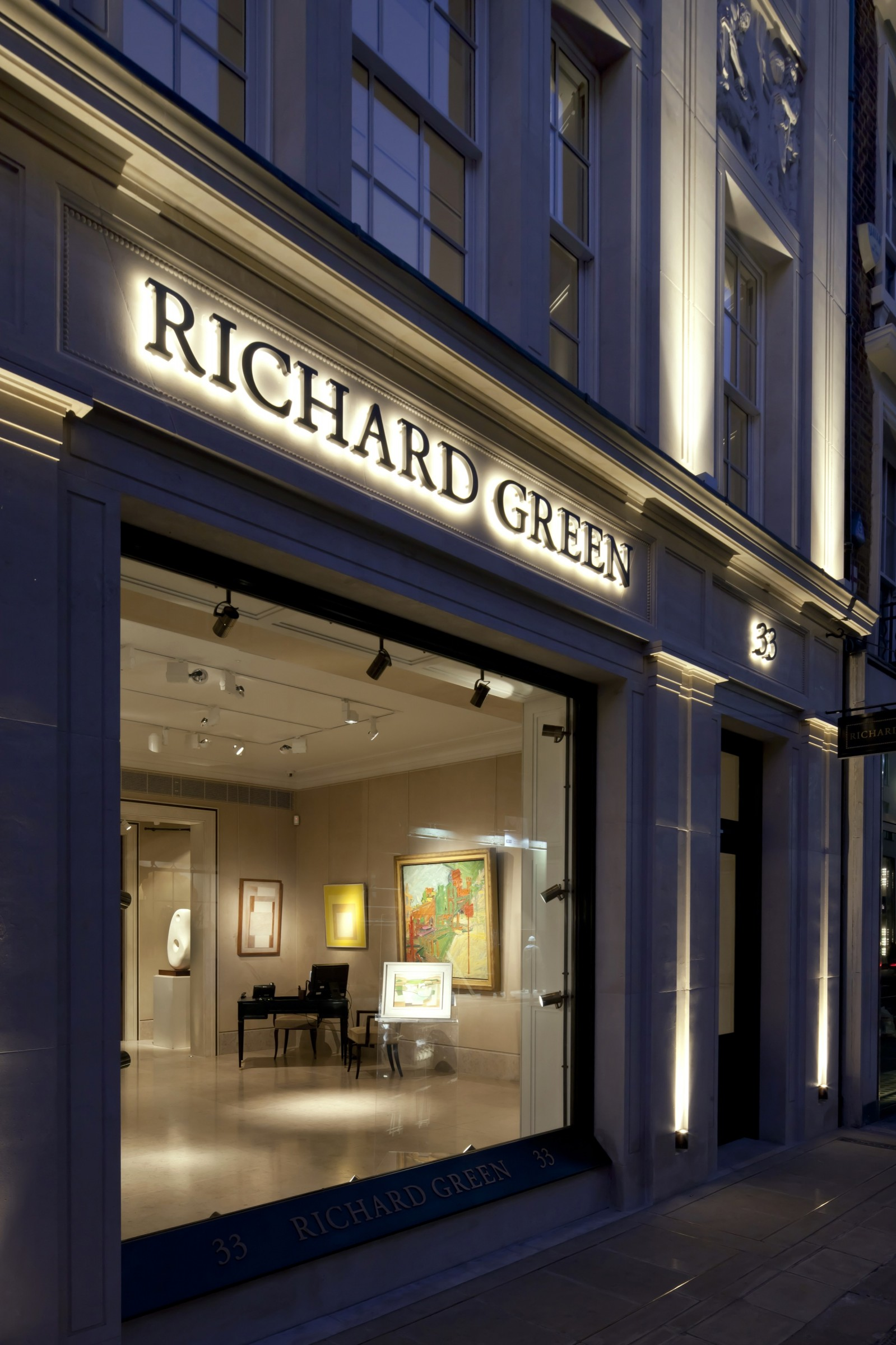 Richard Green Gallery, New Bond Street, London