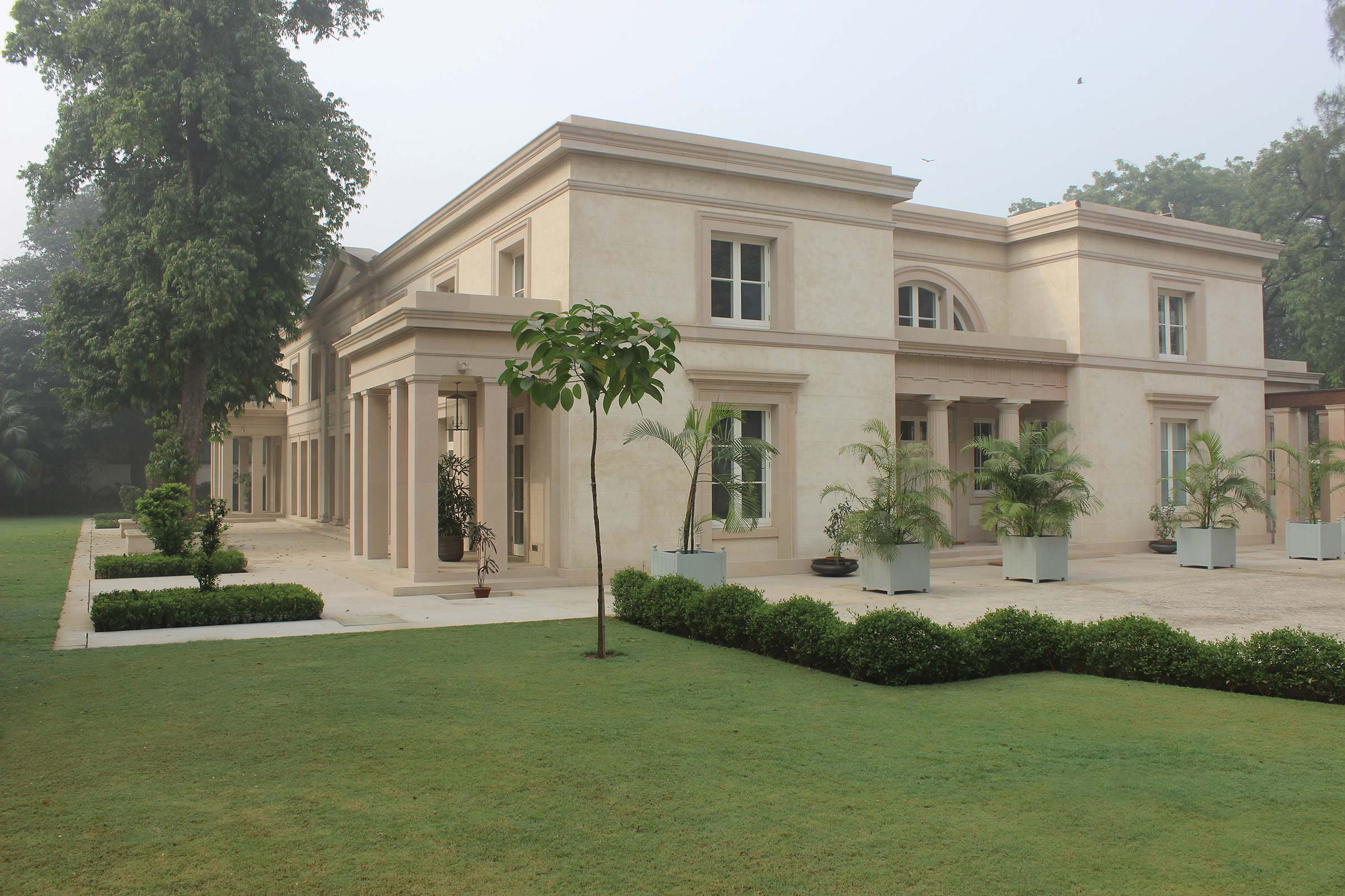 Classical Villa New Delhi India International Architects Adam Architecture