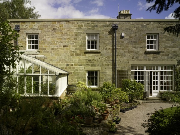 Alterations & extension to Grade II Listed house in Derbyshire