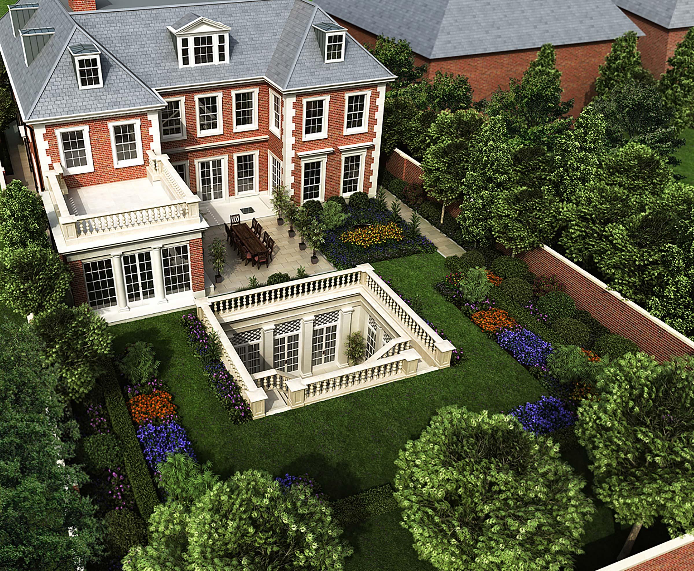 New house in St John's Wood, London
