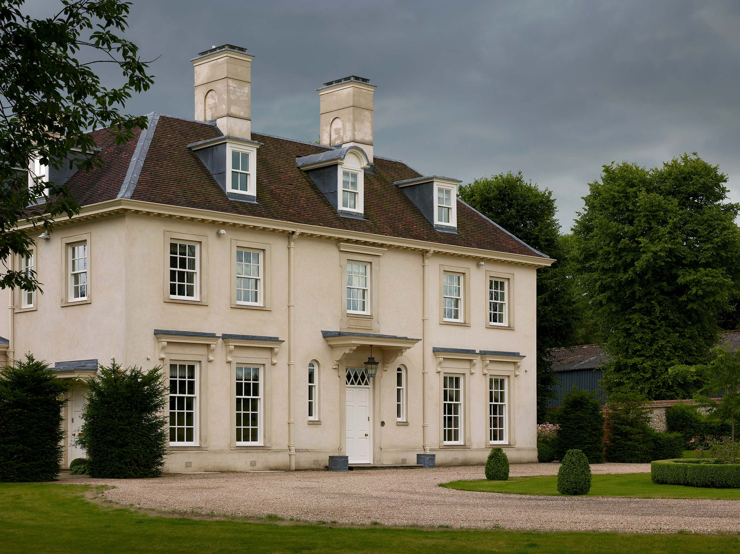 Replacement manor house, Hampshire