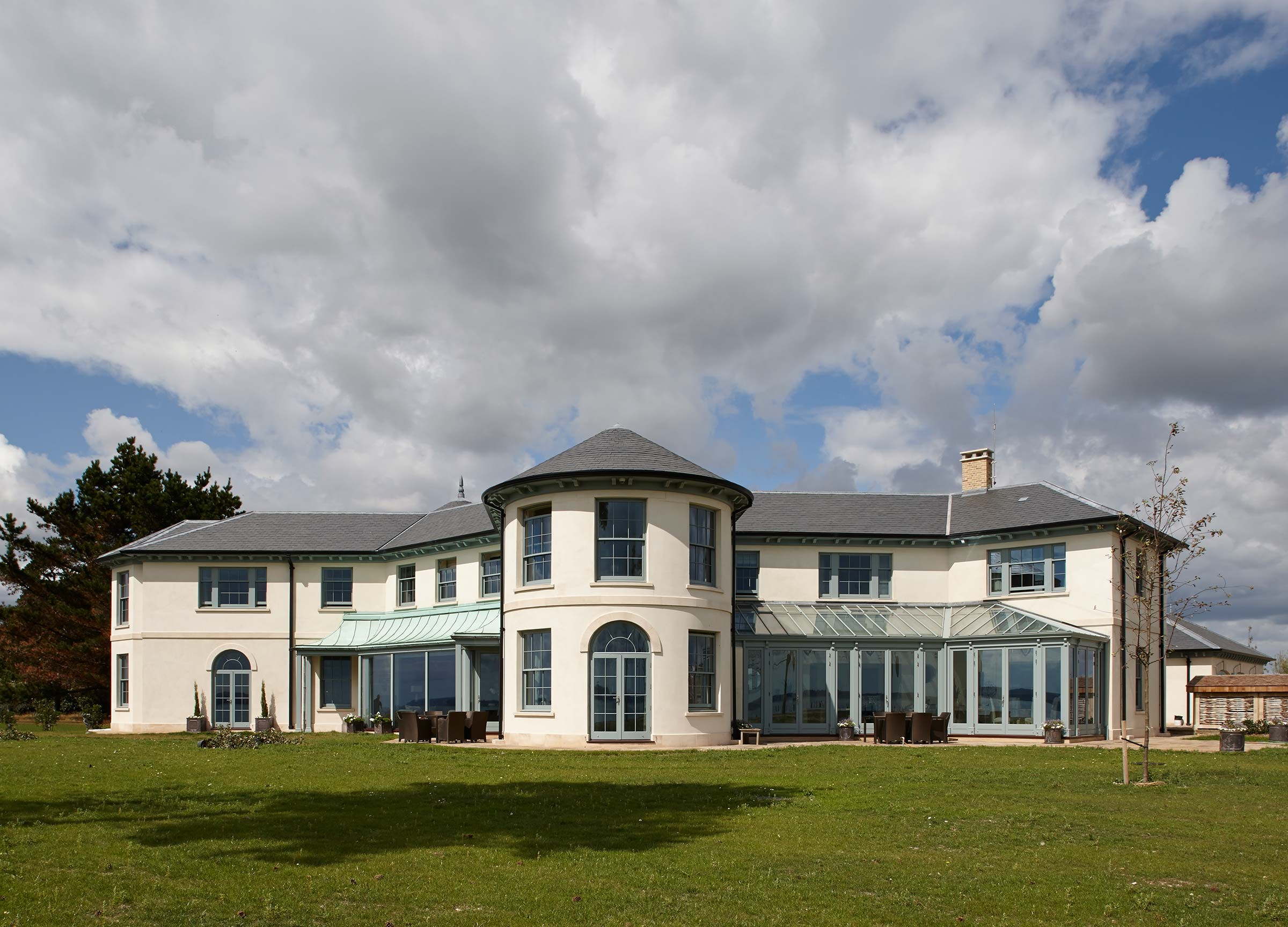 Replacement Regency house, Hampshire