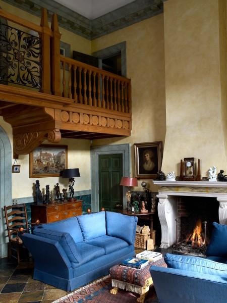 Robert Adam's own home interior, Hampshire