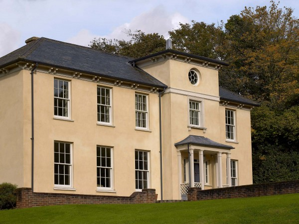 Regency house in Hampshire