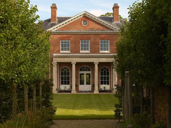 Palladian villa, Hampshire