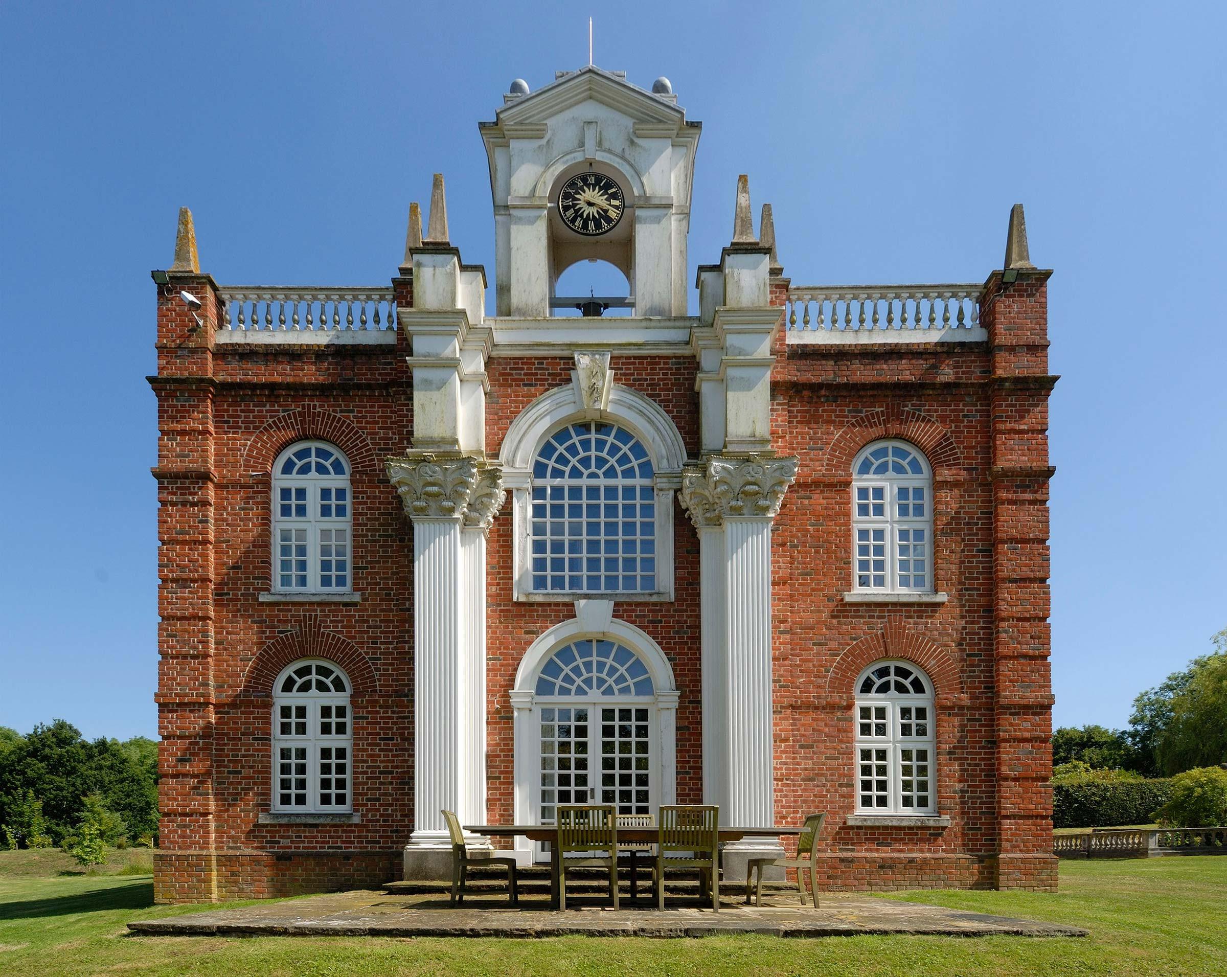 Miniature Baroque mansion, East Sussex
