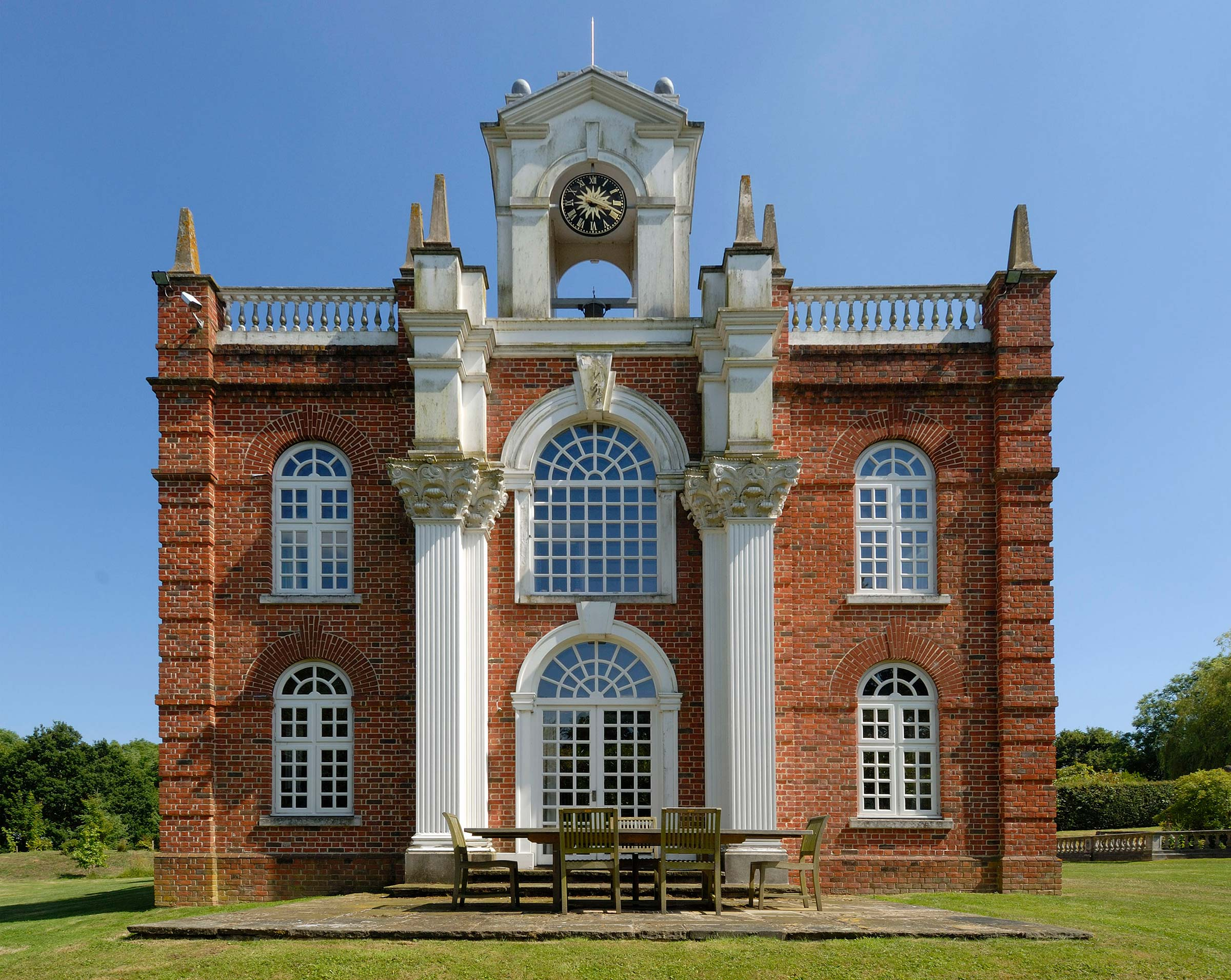 Miniature Baroque mansion, East Sussex