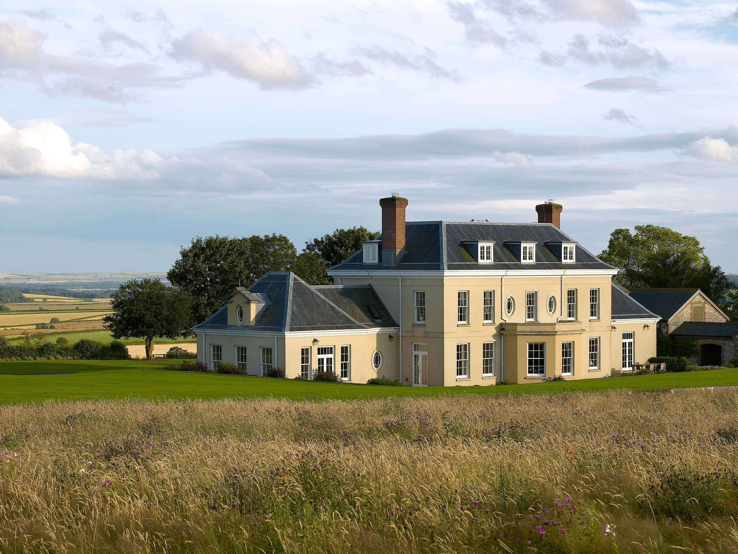 New Queen Anne house in Dorset