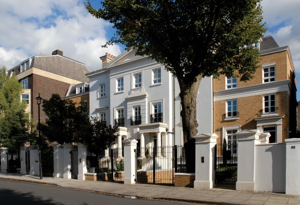 New family houses in St John's Wood, London