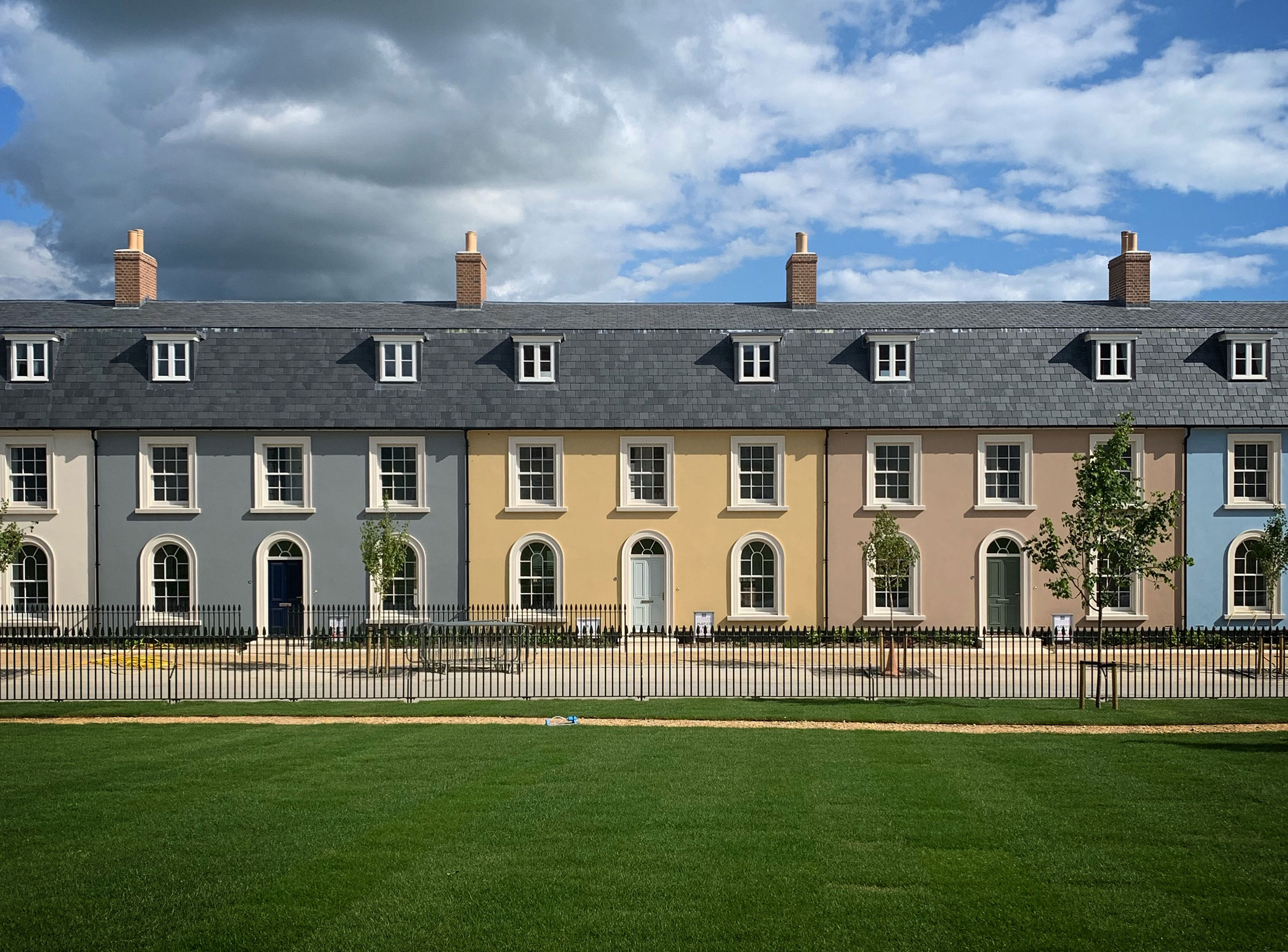 Poundbury, North East Quadrant, Dorset