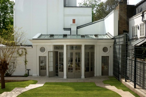 Refurbishment, alteration & extension to a house in Kensington, London