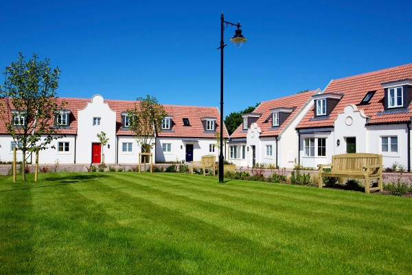 New housing at Belvedere, St Saviour, Jersey