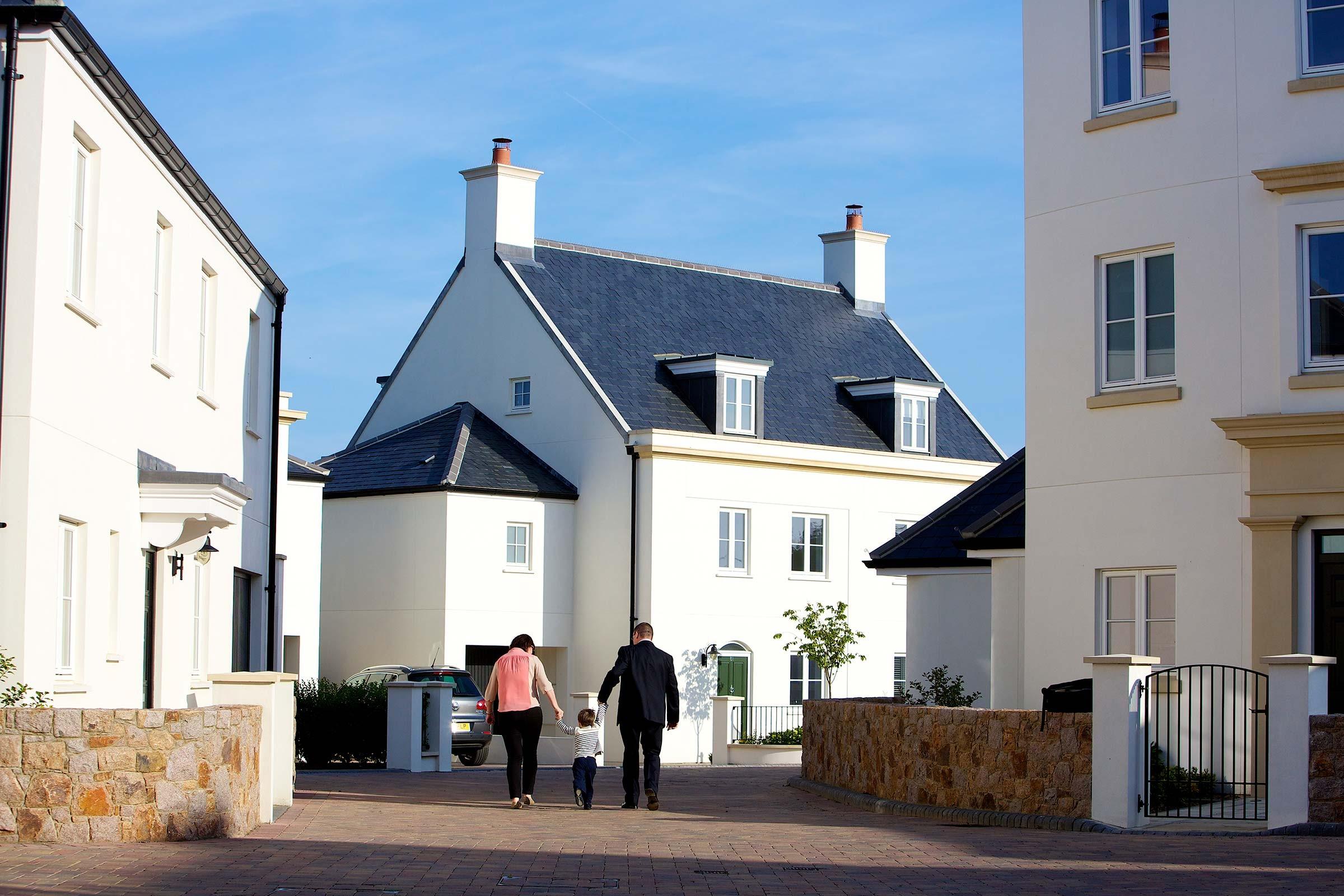 New housing at Belvedere, St Saviour, Jersey