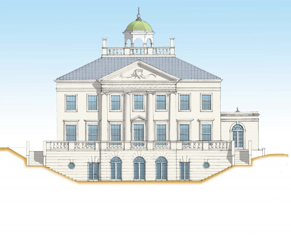Palladian villa in Northern Ireland