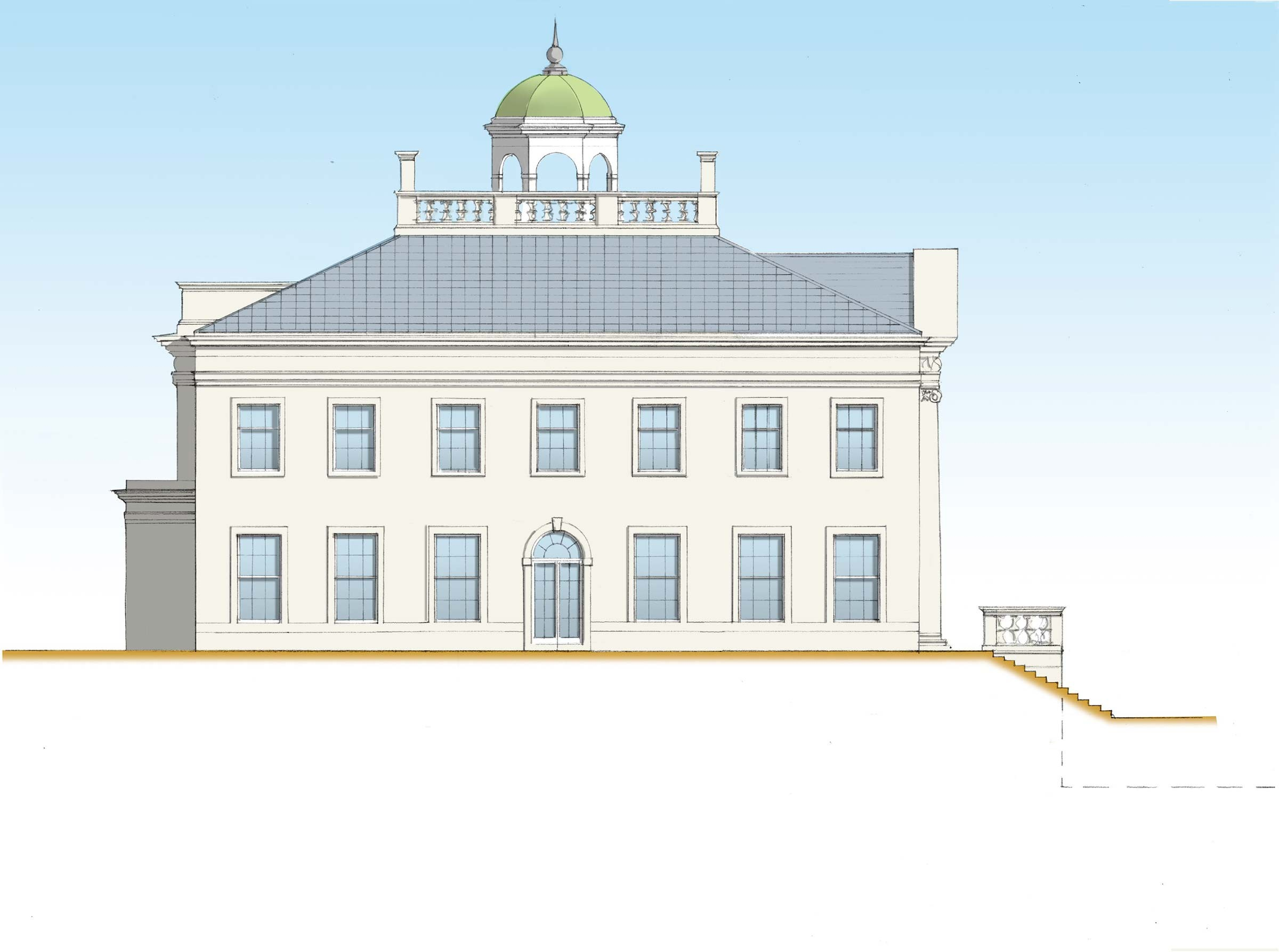 Palladian villa in Northern Ireland