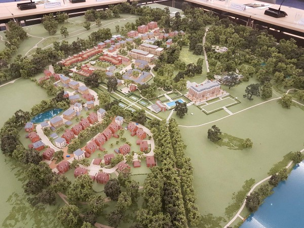 Mixed use development at Trent Park, Enfield, London