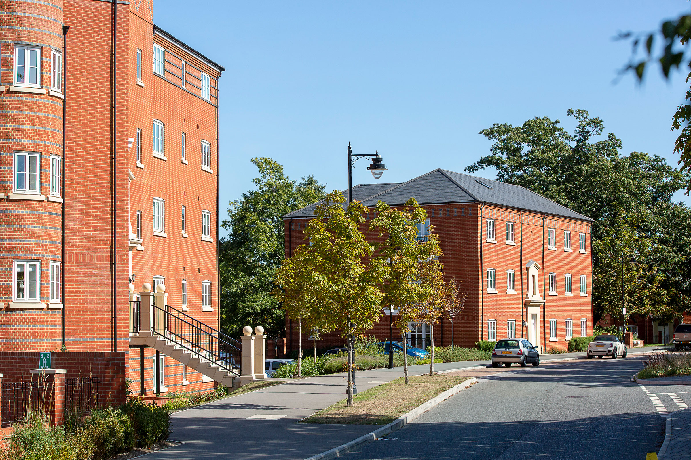 Urban extension of Wellesley in Aldershot, Hampshire