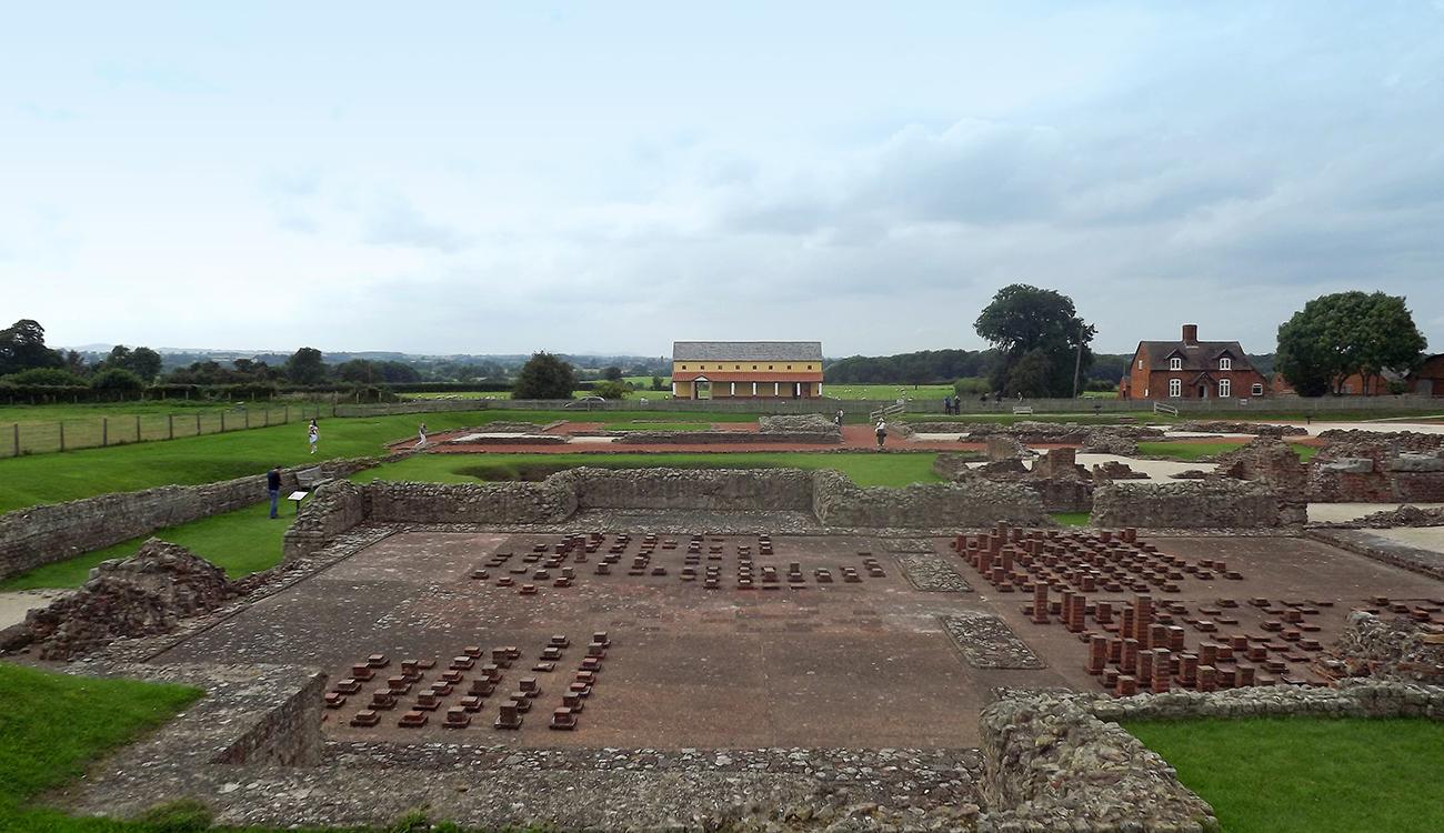 Roman Villa at Wroxeter, Shropshire