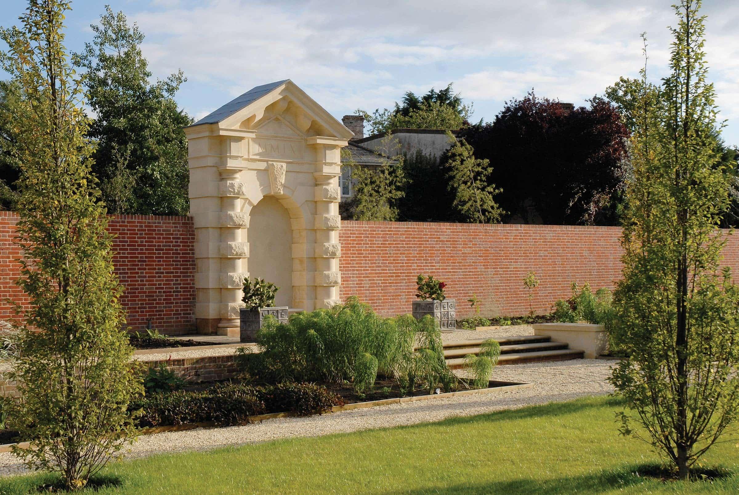 New Palladian villa, Wiltshire