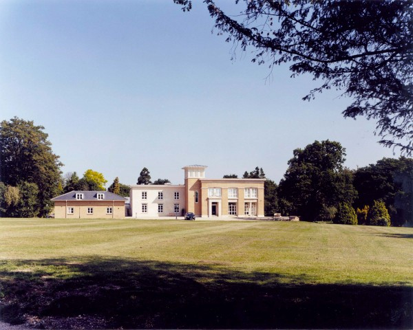Major remodelling of country house in Buckinghamshire