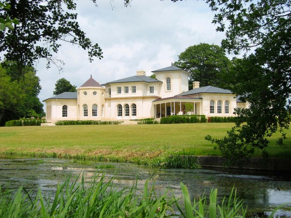 Riverside country house, Dorset