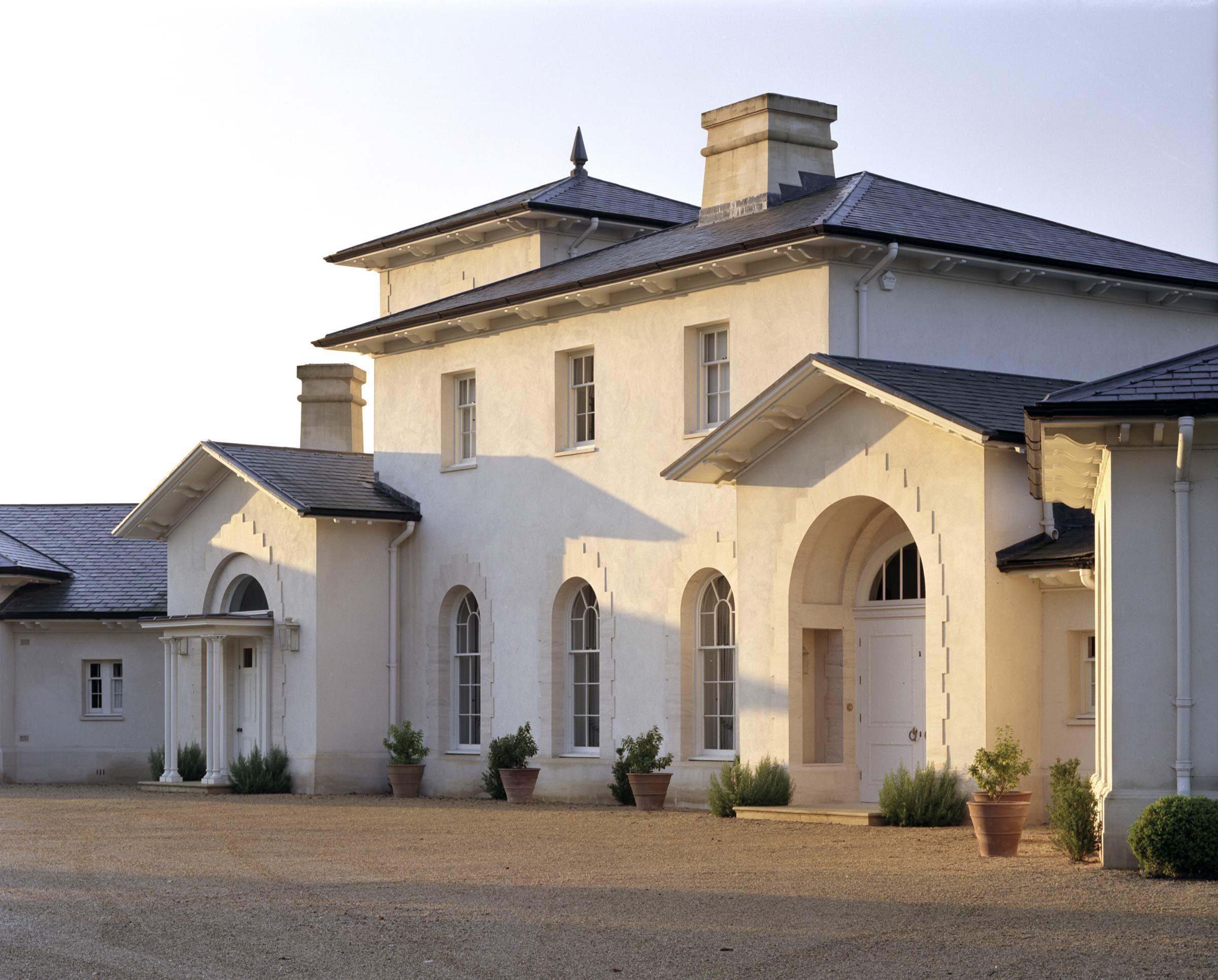 Riverside country house, Dorset