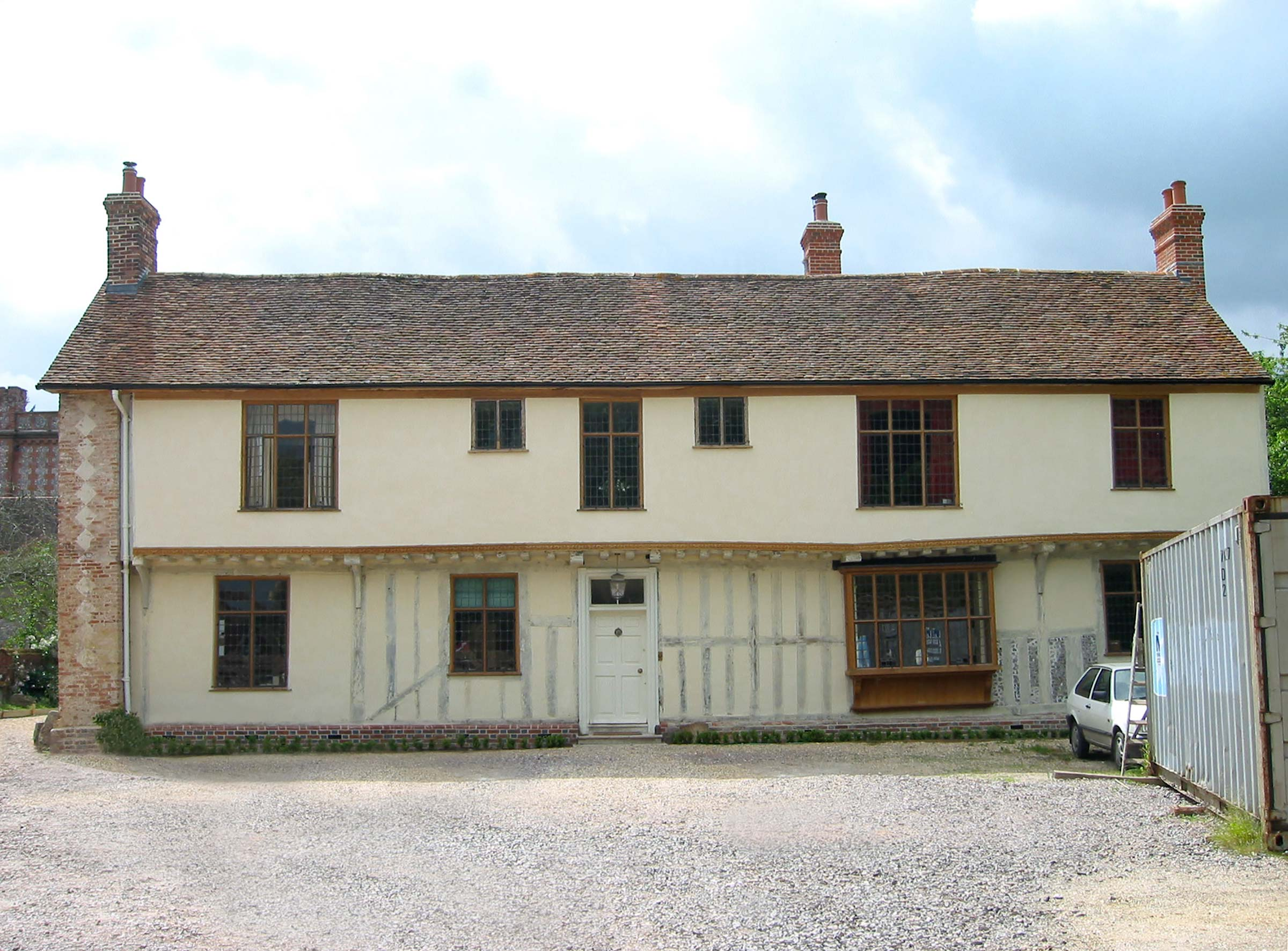 Restoration & extension of medieval house, Hampshire