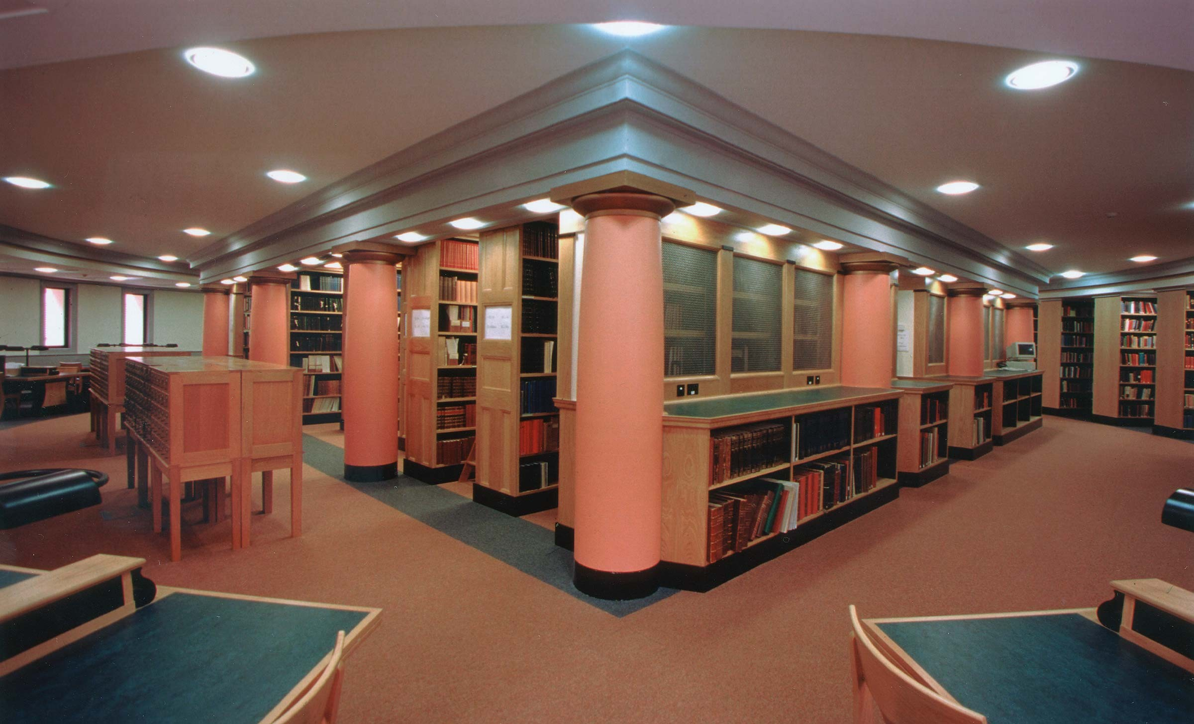 Sackler Library interior for Oxford University, Oxford