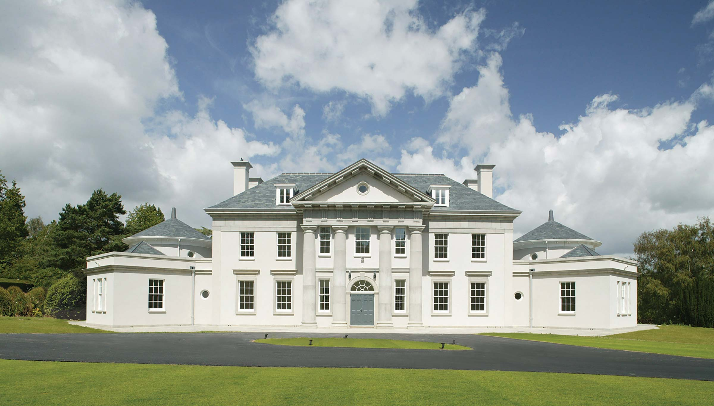 Palladian villa, Sussex