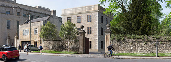 Planning consent for major development at Trinity College, Oxford