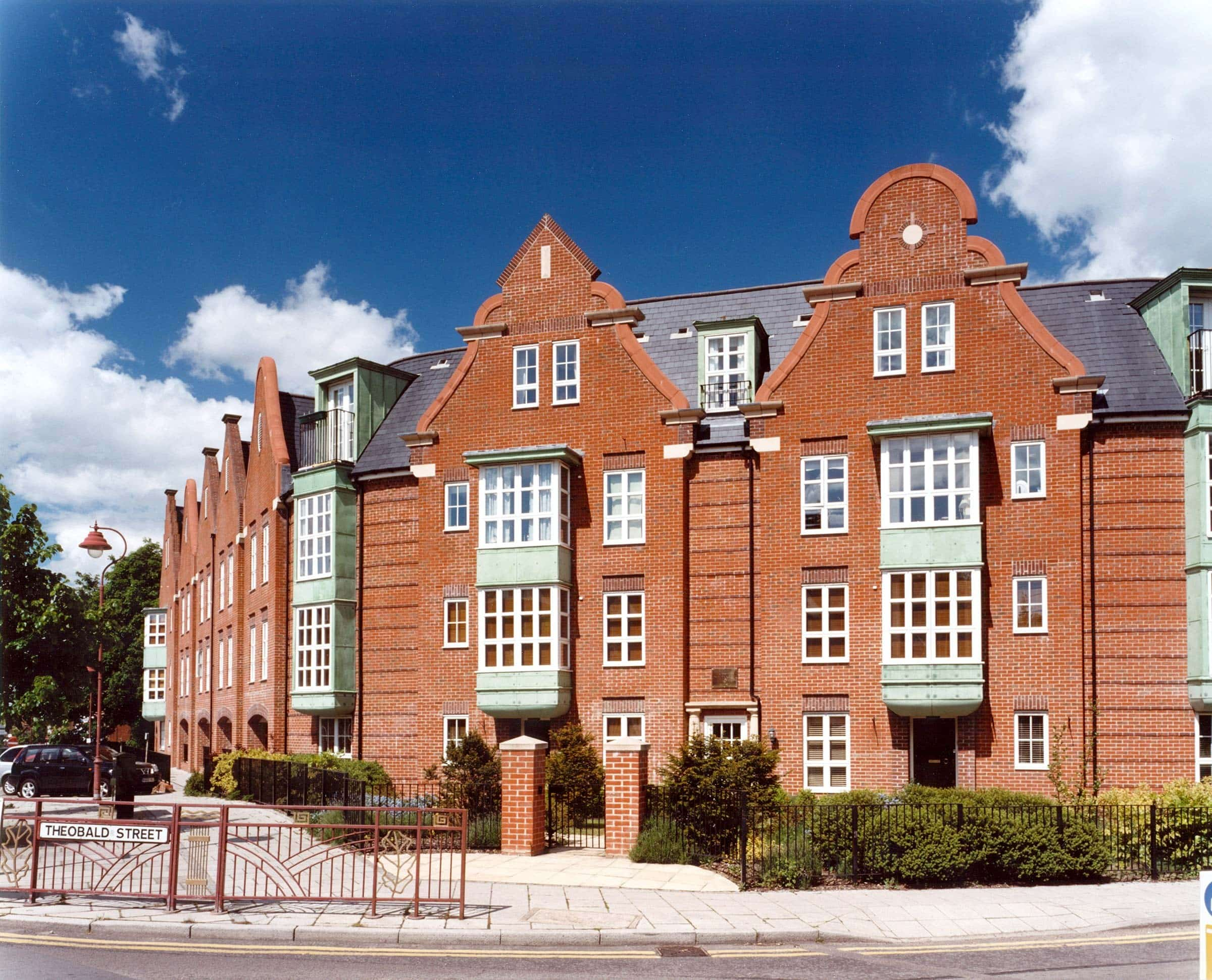 Urban development at Radlett, Hertfordshire