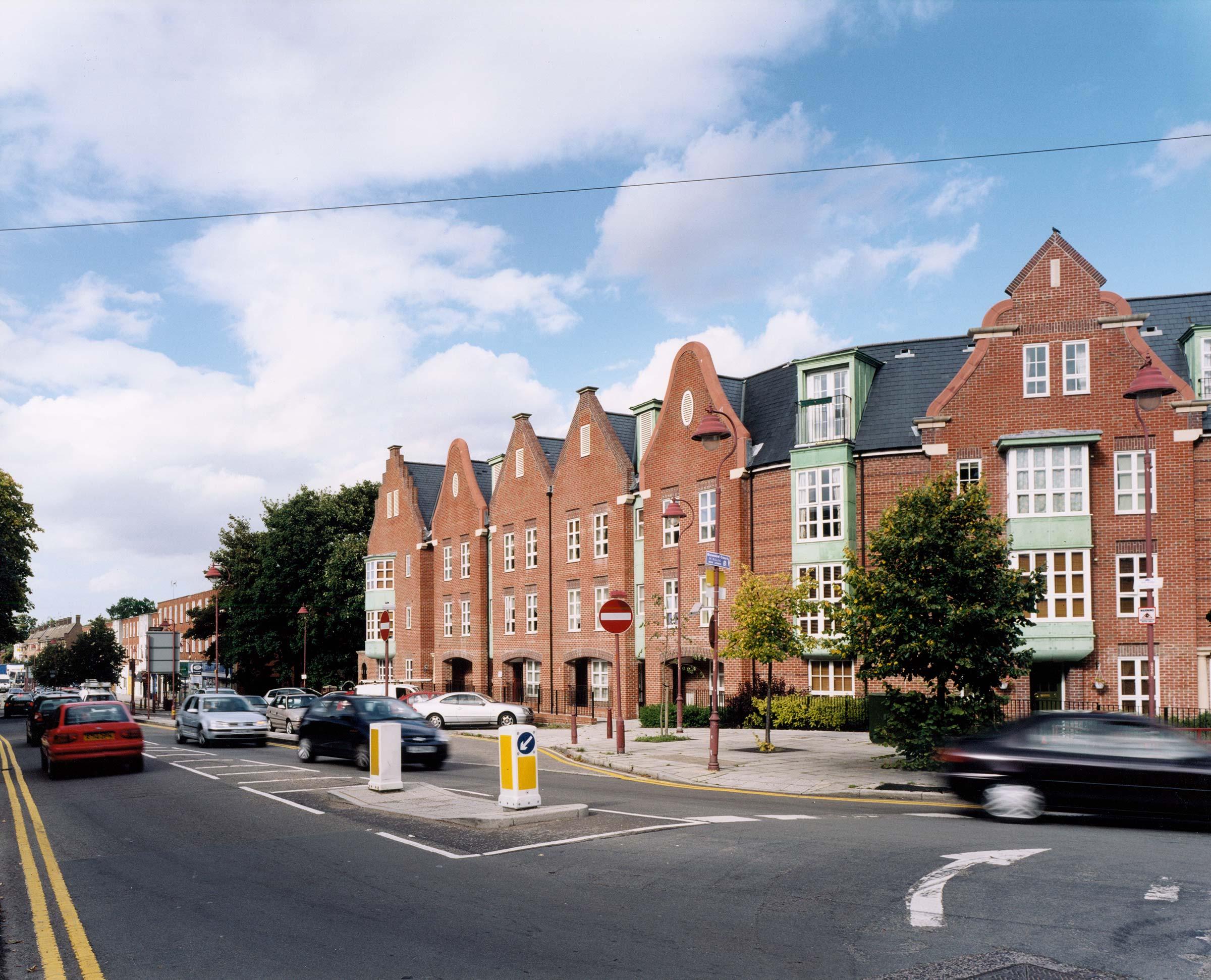 Urban development at Radlett, Hertfordshire