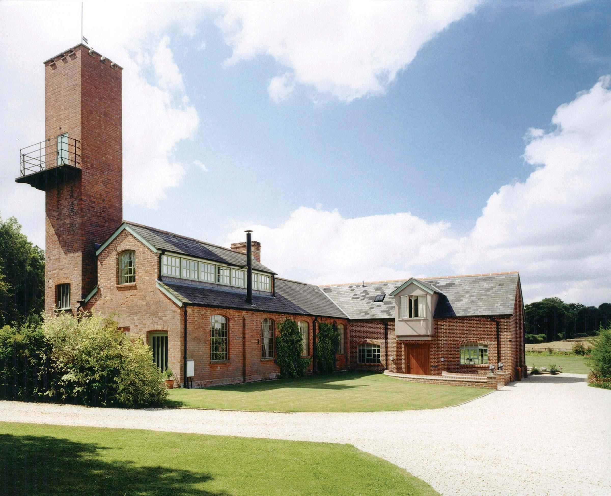 Industrial workshop conversion, Hampshire