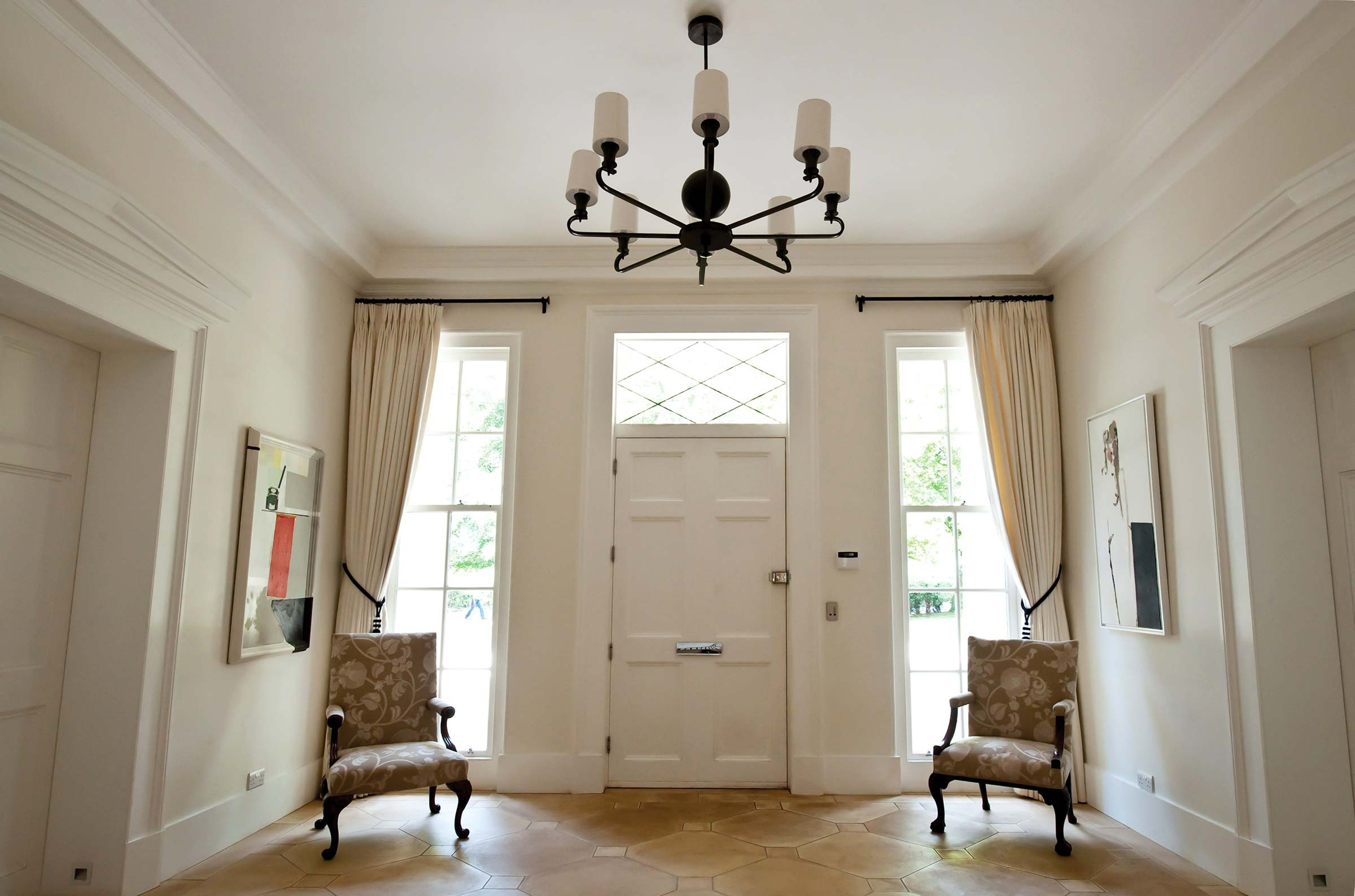Modern Classical villa interior, Cheltenham