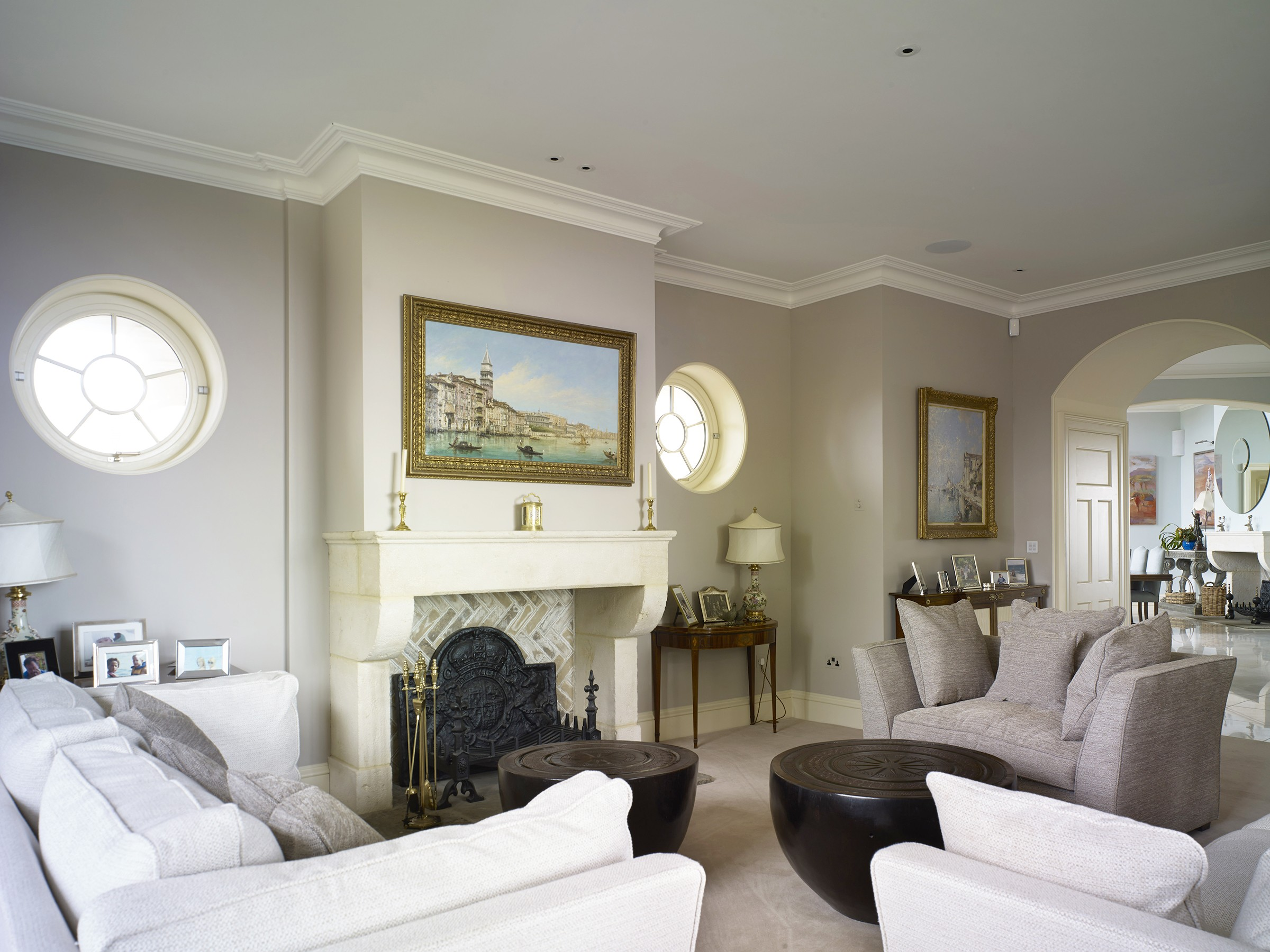 Replacement Regency house interior, Hampshire
