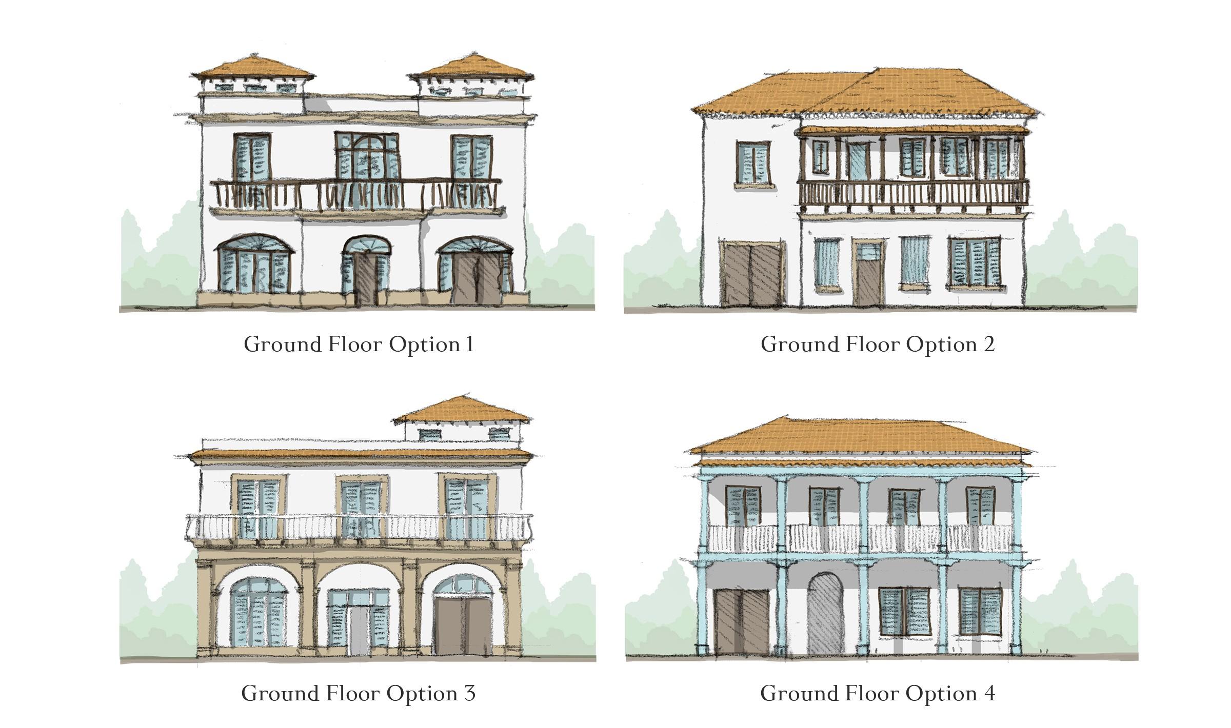Conceptual exploration of architectural development in Cuba