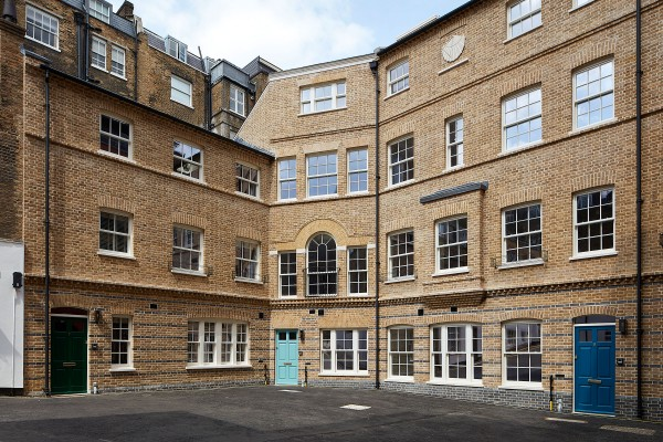 Replacement houses at Dean's Mews, London​