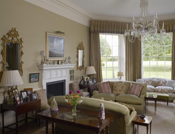 Palladian villa interior, Hampshire