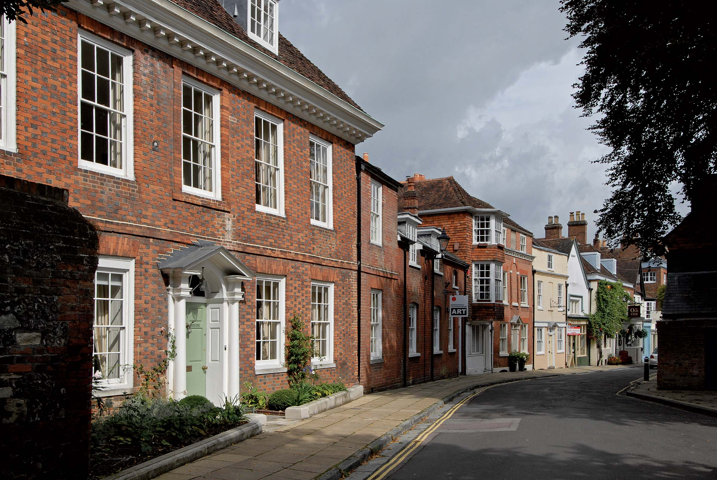 Georgian townhouse restoration, Winchester