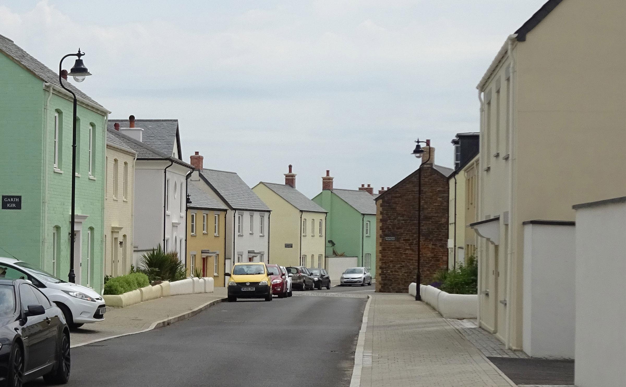 Nansledan near Newquay, Cornwall