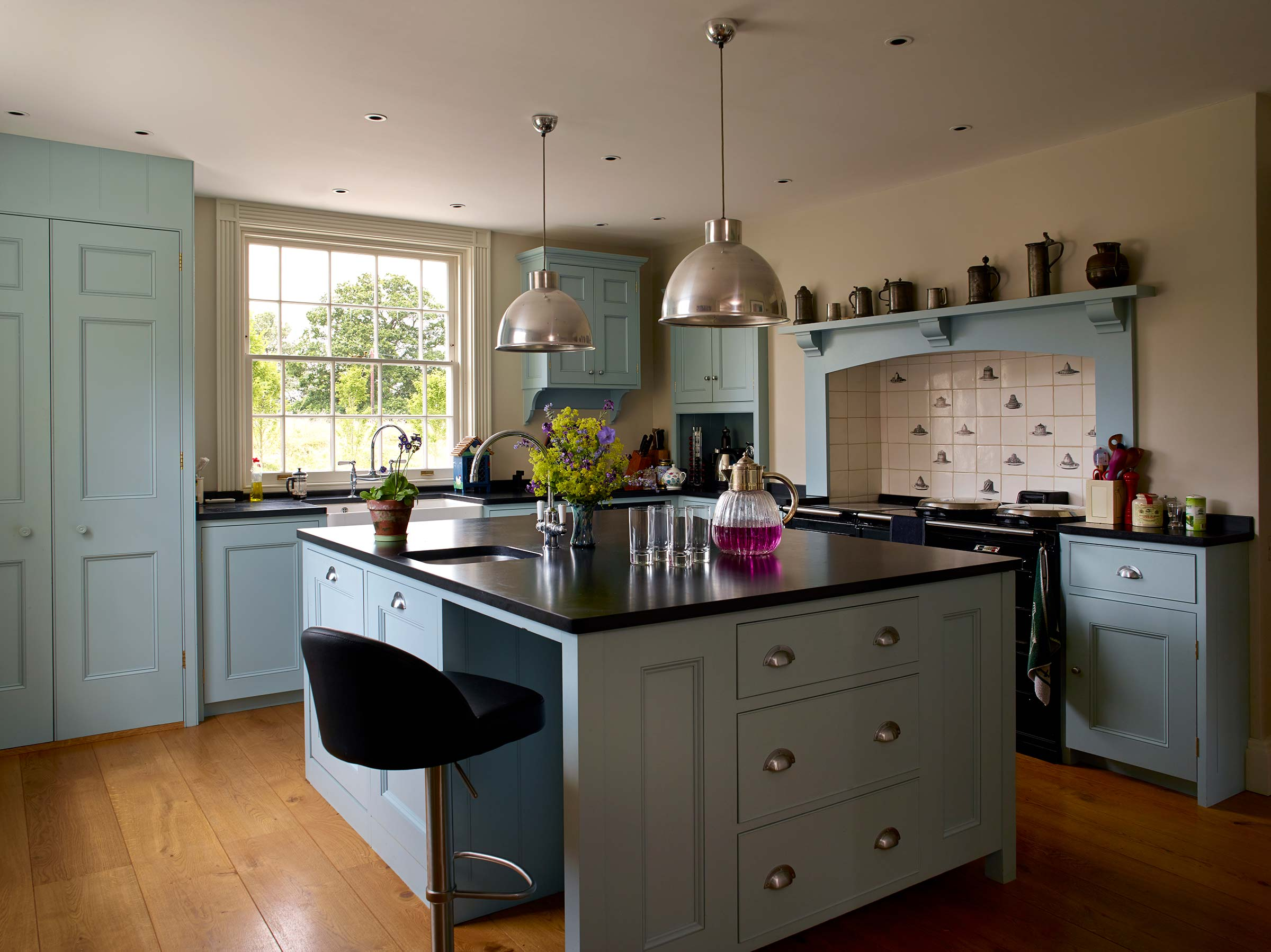 Alterations & restoration to Grade II Listed house in Hampshire