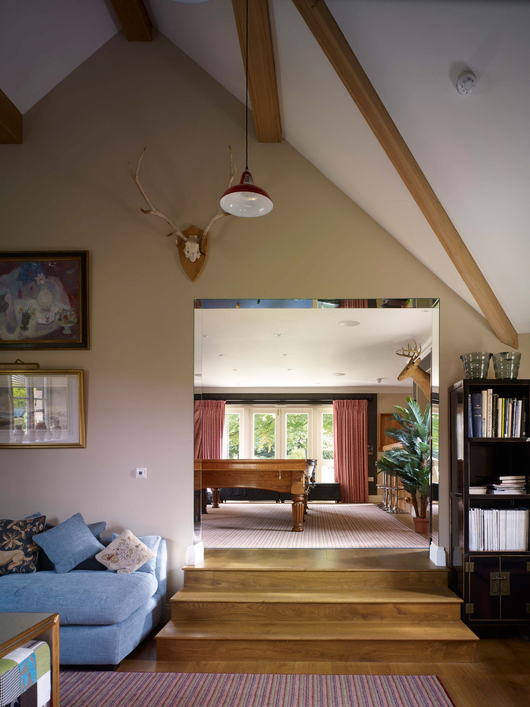 Restoration & extension to Grade II Listed house and barn conversion, Wiltshire