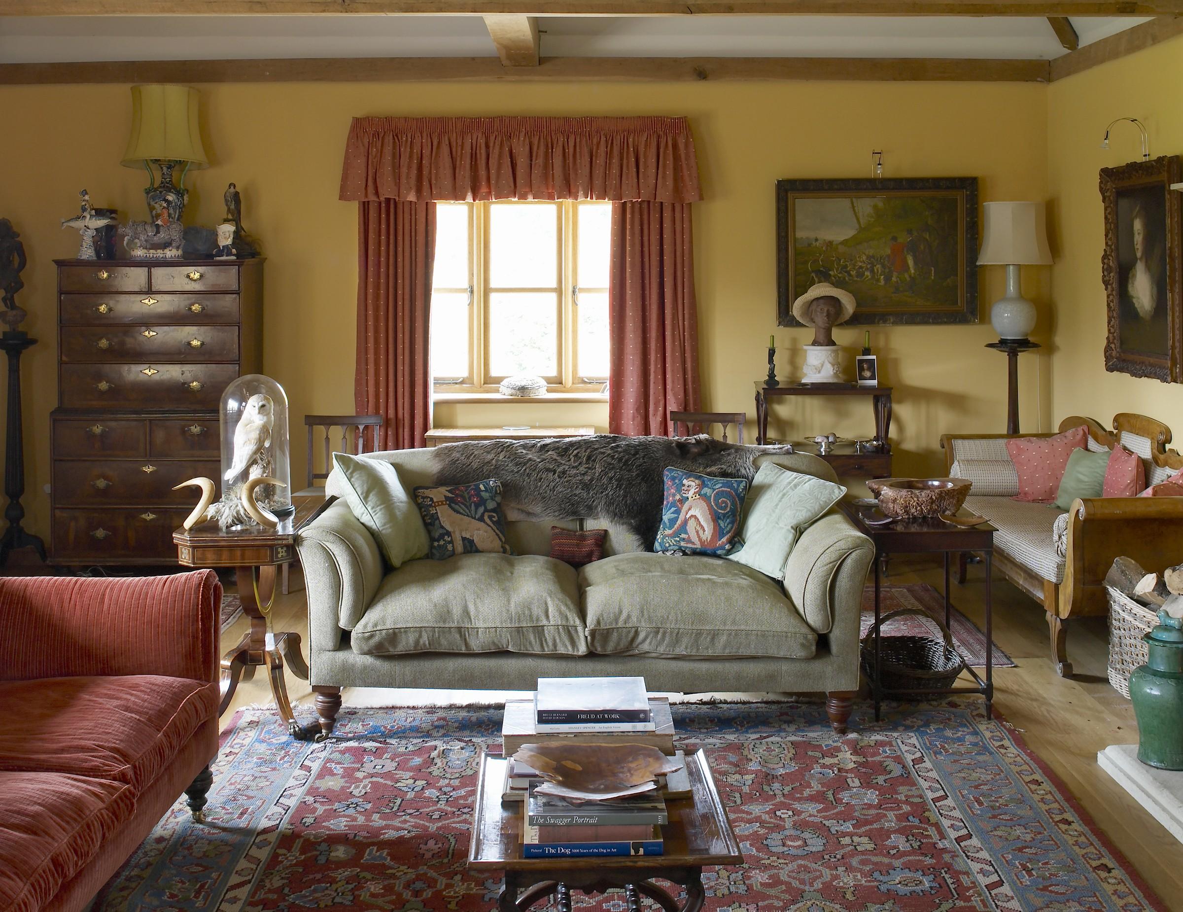 Arts & Crafts farmhouse interior, Hampshire