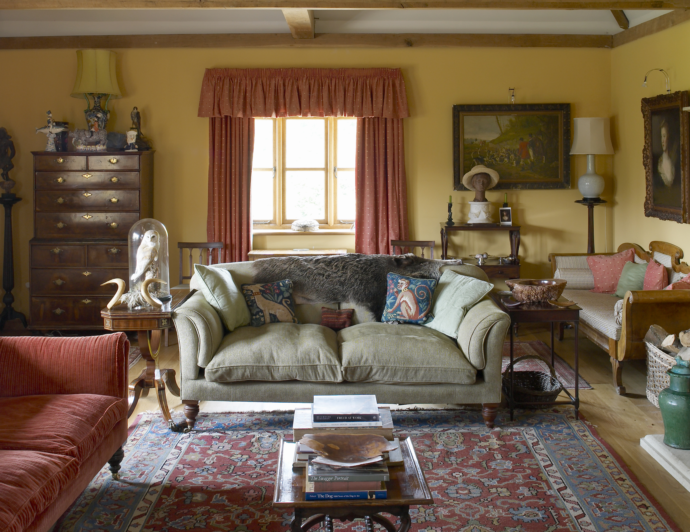Arts & Crafts farmhouse interior, Hampshire
