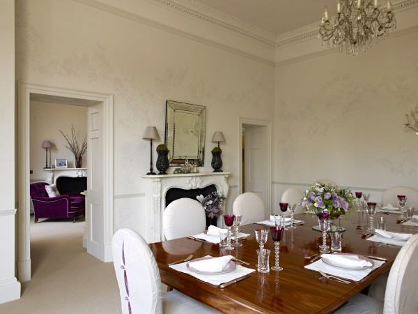 Restoration & consolidation of Georgian country house, Hertfordshire – Interior